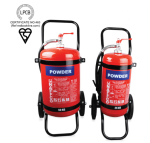 Mobile Dry Powder Fire Extinguisher 1 Mobile Dry Powder Fire Extinguisher