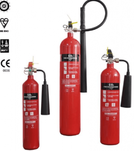 Portable CO2 Fire Extinguishers - LPCB Certified 1 Portable CO2 Fire Extinguishers - LPCB Certified