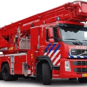industrial firefighting vehicle