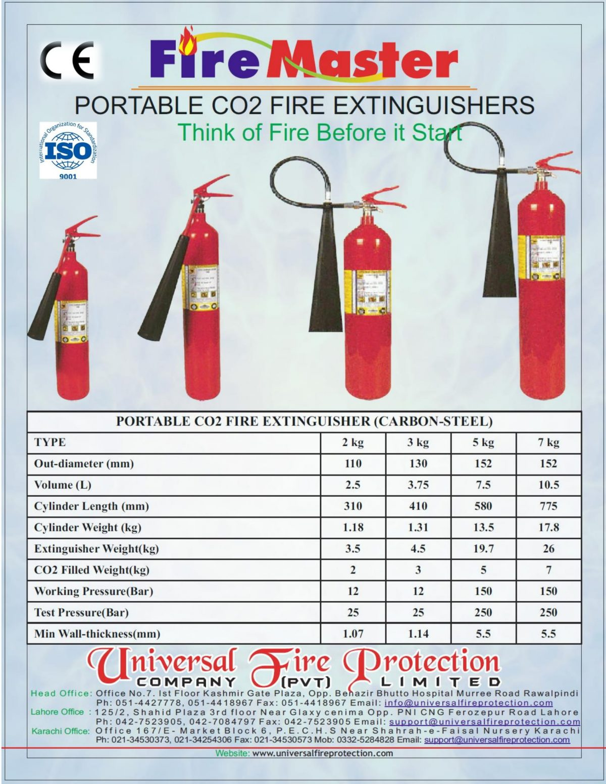 CO2 Portable Fire Extinguisher 1 CO2 Portable Fire Extinguisher
