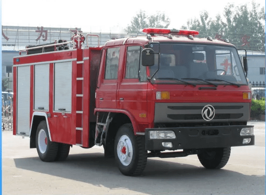 Engine Fire Fighting Rescue Truck