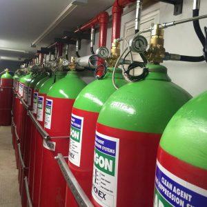 AKRONEX INERT FIRE SUPPRESSION SYSTEMS